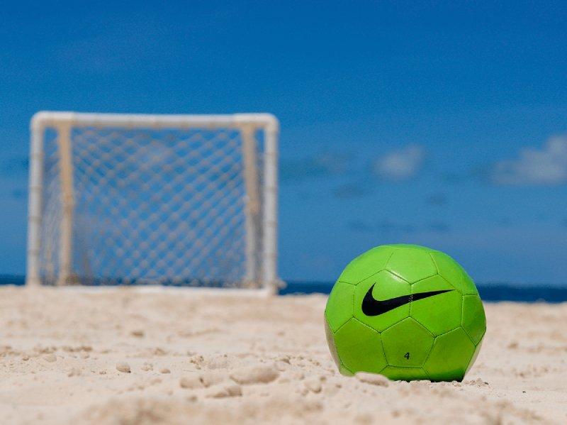beach soccer in cancun