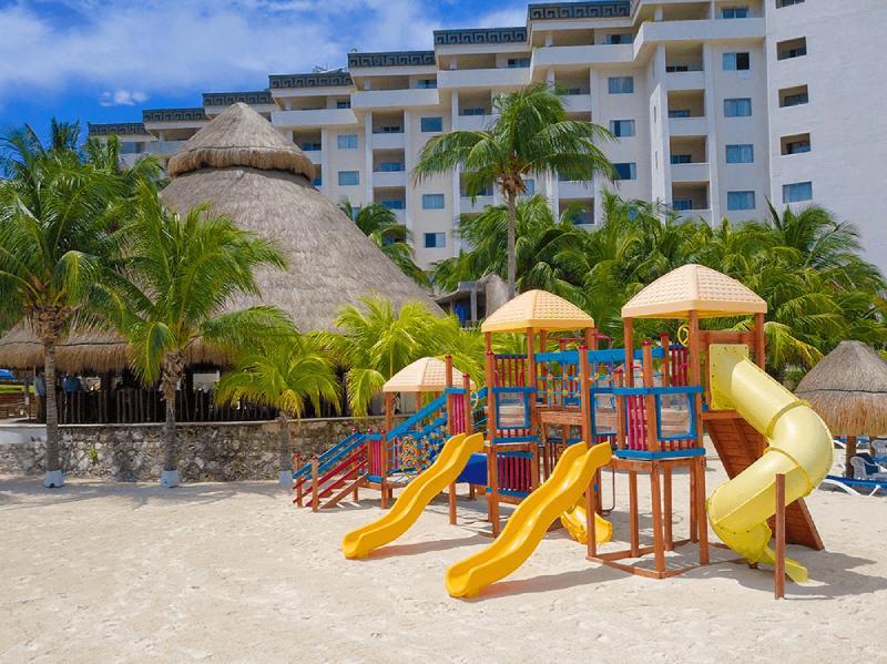Areas para niños en hotel en cancun